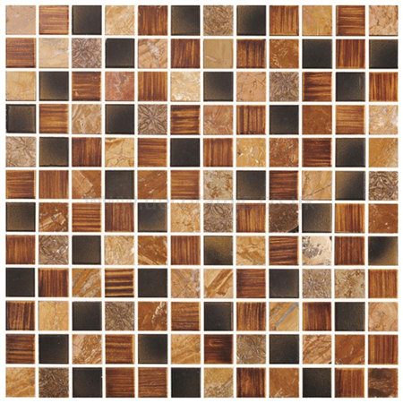 Kolkata Earth And Fire Mixed Mosaics Mixed Textures Tile
