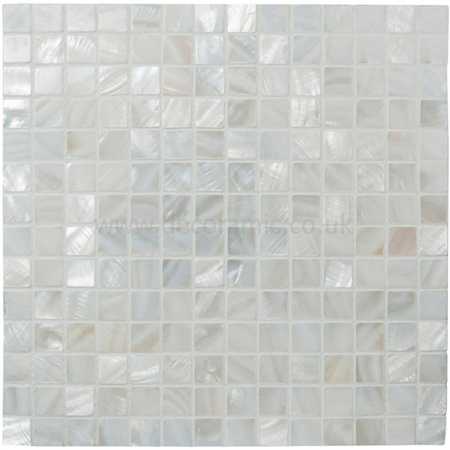 Innocence Shell Mosaic Gloss Tile 305 X 305 X 2 Mm Ew